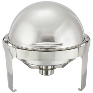 Stainless Steel Roll Top Chafer 6qt.