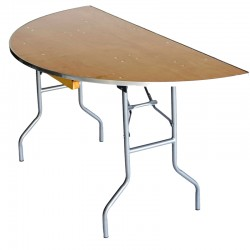 """60"""" Half Moon Table"""